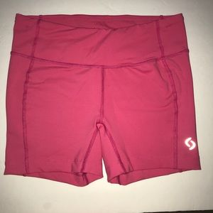Moving Comfort Compression Athletic Shorts